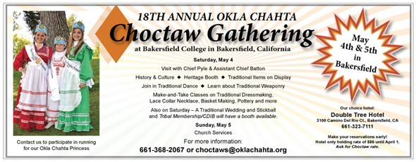 Choctaw Gathering Bakersfield California
