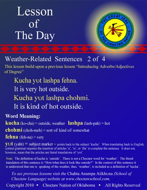 Weather Related Sentences #2