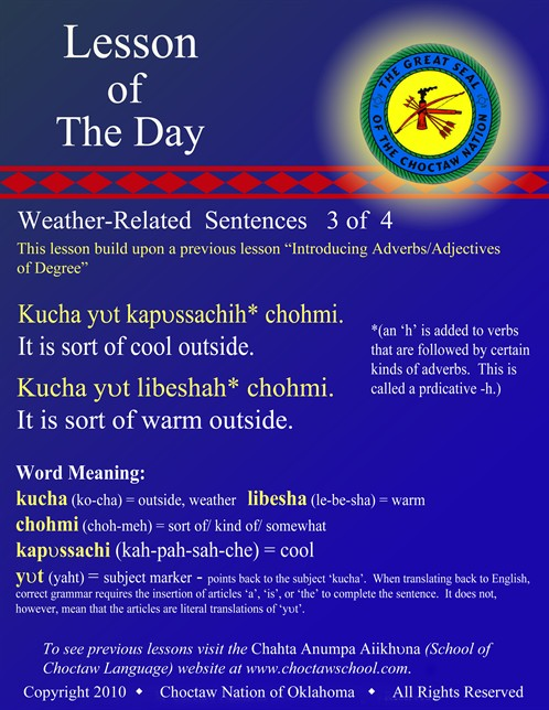 Weather Related Sentences #3