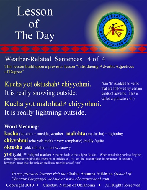 Weather Related Sentences #4