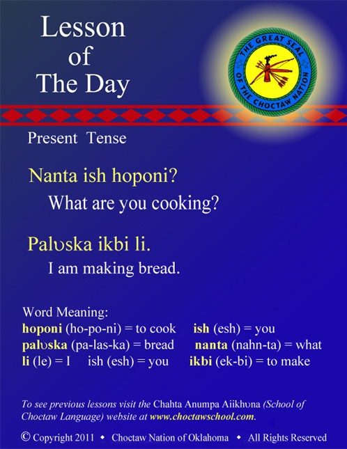 Cooking and Making Present Tense