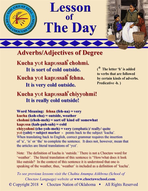 Adverbs/Adjectives of Degree