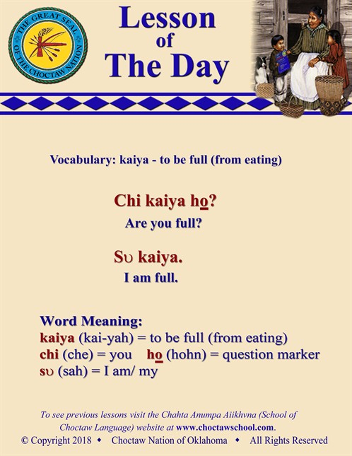 Vocabulary Kaiya