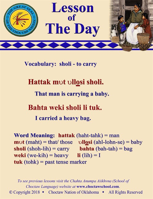 Vocabulary Sholi