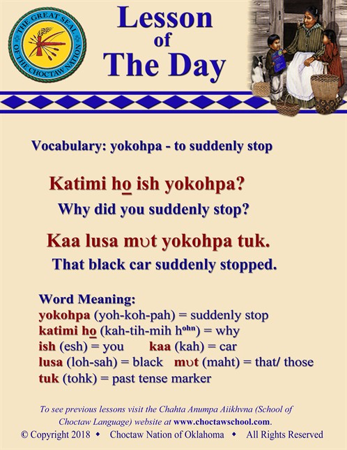 Vocabulary Yokohpa