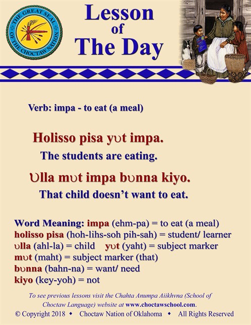 Verb Impa To Eat