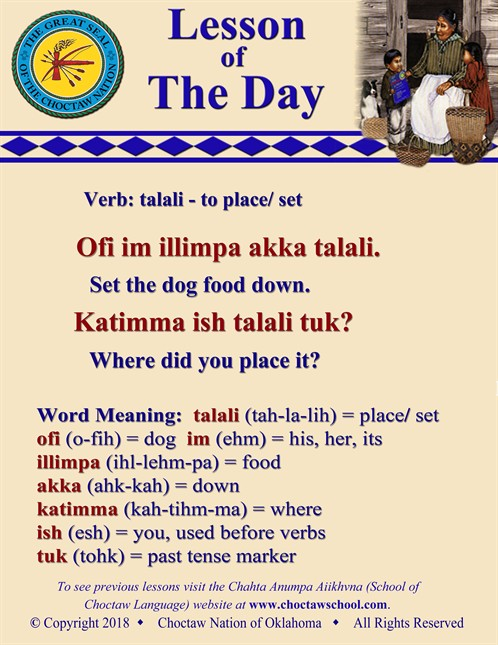 Verb Talali Place Set