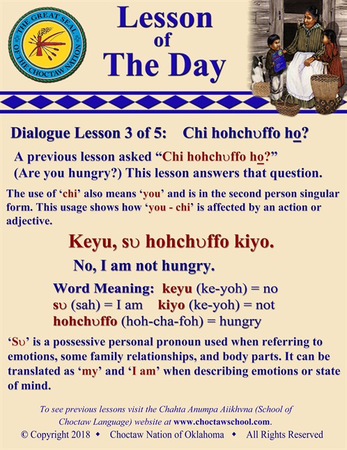 Dialogue Lesson 3 Of 5 Chi Hohchvffo Ho