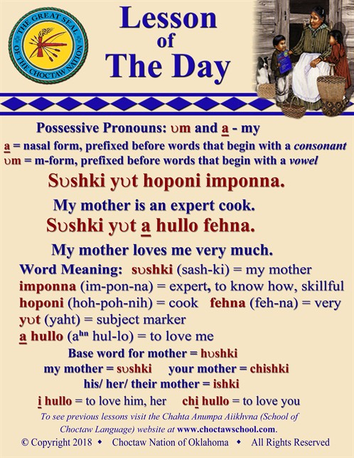 Possessive Pronouns Vm A_