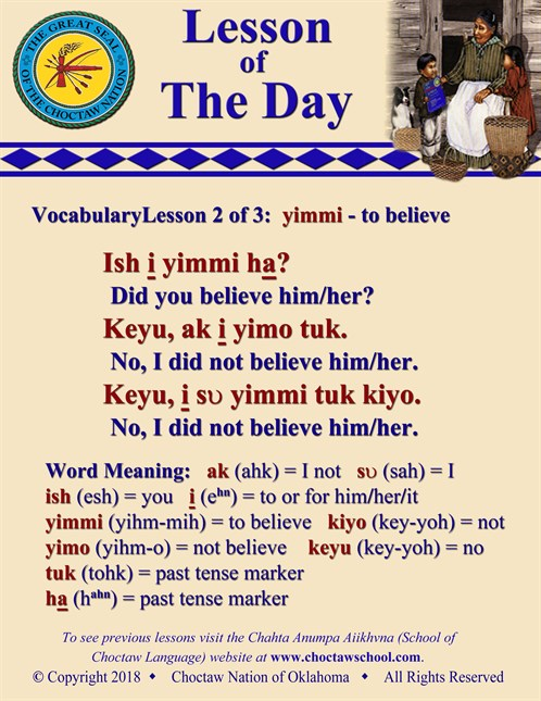 Vocabulary Lesson 2 Of 3 Yimmi
