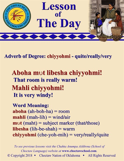 Adverb Of Degree Chiyyohmi
