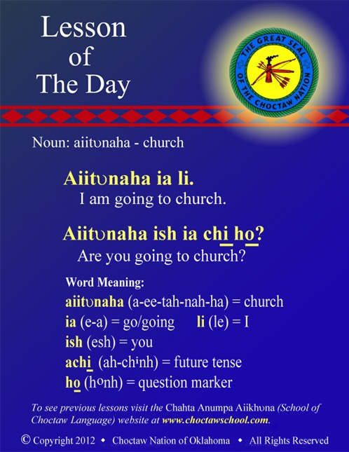 Noun: Aiitvnaha - Church