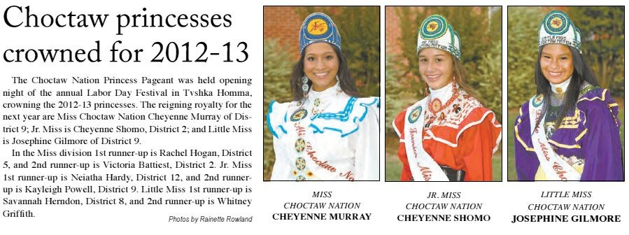 Choctaw Princesses