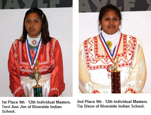 2012 Language Fair 1st Place & 2nd Place Individual Masters