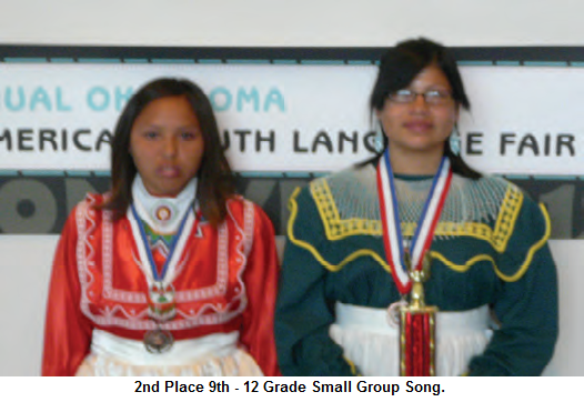 2012 Language Fair 2nd Place 9th -12th Small Group Song