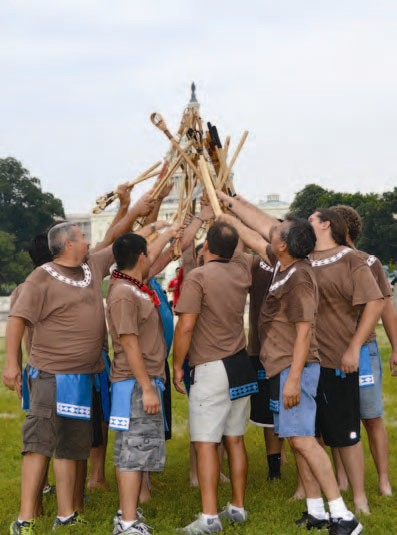 Stickball 2012 at the Nation's Capital